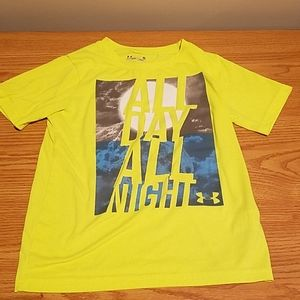 """UNDER ARMOUR, Boy's """"ALL DAY ALL NIGHT"""" T-shirt"""